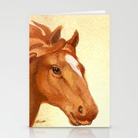 Redhead - Chestnut Horse Stationery Cards