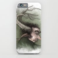 iPhone & iPod Case featuring Fairy with Antlers by Mr Patch