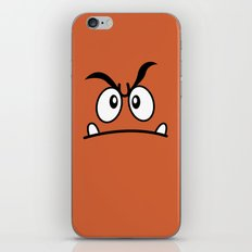 Minimalist Goomba iPhone & iPod Skin
