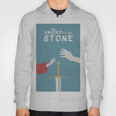 The Sword in the Stone - Walt Disney Minimal Movie Poster Hoody
