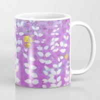 Ferns And Orchid Skies Mug