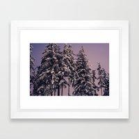 Winters Winter Wintering Framed Art Print