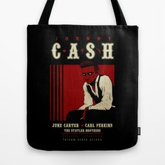 Cash Live at Folsom Prison Tote Bag