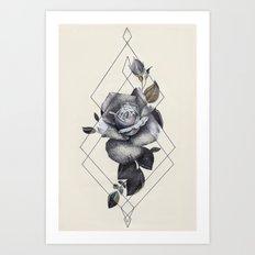 Geo Rose II Art Print