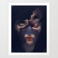 Under Her Skin III Art Print