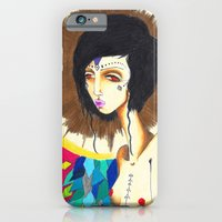 iPhone & iPod Case featuring Geometric Madonna  by Sirius