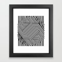 LOST/THOUGHTS Framed Art Print