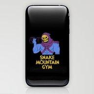 Snake Mountain Gym iPhone & iPod Skin