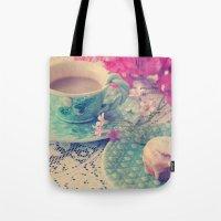Sweet Morning Tote Bag