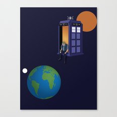 A WhoView Canvas Print