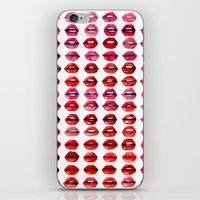 Lips Quote iPhone & iPod Skin