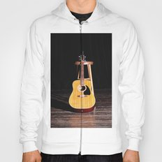 The Silent Guitar Hoody