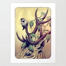 Bittersweet - coloured Art Print