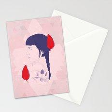 skull+face Stationery Cards