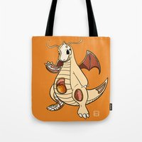 Dragonite Anatomy Tote Bag