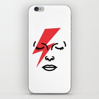 Bye Ziggy Stardust iPhone & iPod Skin