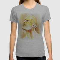 Soul Womens Fitted Tee Athletic Grey SMALL