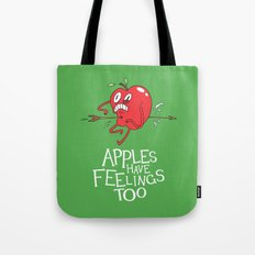 Apple Shot Tote Bag
