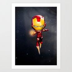Iron Man Art Print