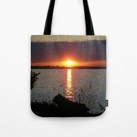 Sunset Brilliance Tote Bag