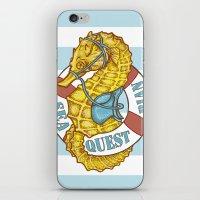 Seaquestrian iPhone & iPod Skin