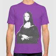 Mona Lisa SW X1 Mens Fitted Tee Ultraviolet SMALL