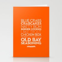 Baltimore — Delicious … Stationery Cards