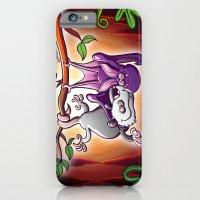 Opossum And Bat In Love iPhone 6 Slim Case