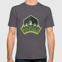 The Borg Drones Mens Fitted Tee Asphalt SMALL