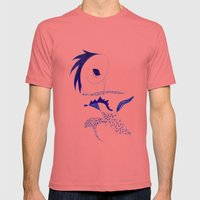 Punk Mens Fitted Tee Pomegranate SMALL