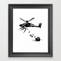 Helicopter.. Framed Art Print