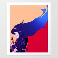 Art Print featuring Hope Will Never Die by Blue