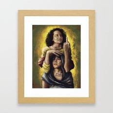 Broad Saints Framed Art Print