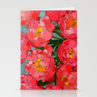Pink Tulips On Parade! Stationery Cards