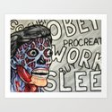 They Live - Obey Art Print