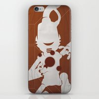 CHAM.AN.DROID iPhone & iPod Skin