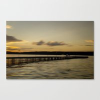 Pier Walk Canvas Print