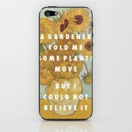 iPhone & iPod Skin featuring Hunting For Sunflowers by Modern Vampires Of A…