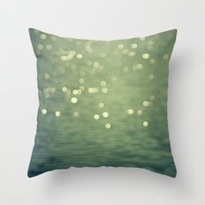 Dancing Light Throw Pillow