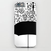 Letter Rain iPhone 6 Slim Case