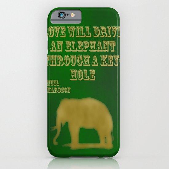 Elephant Love iPhone & iPod Case