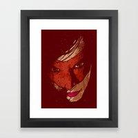 Sister Hazard Framed Art Print