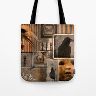 Gothic Menagerie Tote Bag