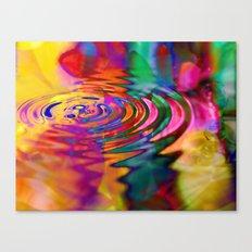 Displacement Canvas Print