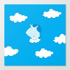 Baby Unicorn Canvas Print