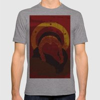 Xena : Warrior Princess Mens Fitted Tee Athletic Grey SMALL