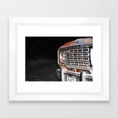 dodge the rust  Framed Art Print