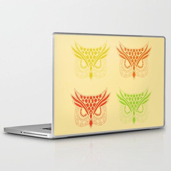 Owl Tribe Laptop & iPad Skin