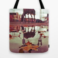 Roadside water Tote Bag