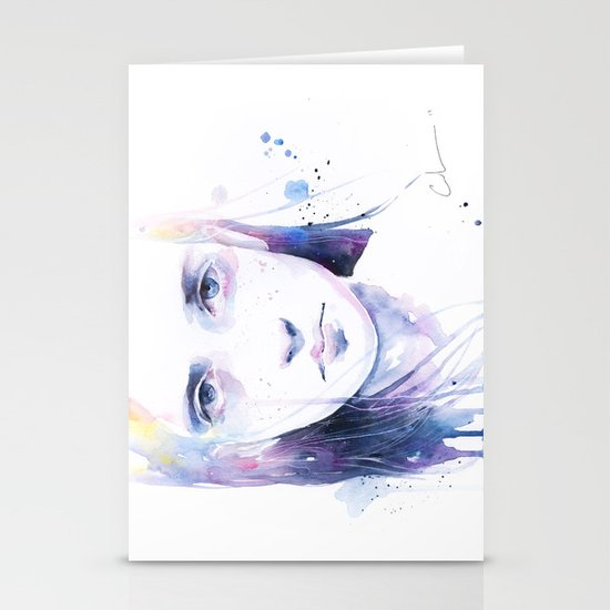 the water workshop II Stationery Card